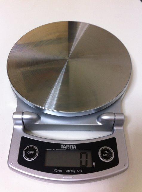 タニタ デジタルクッキングスケール KD-400