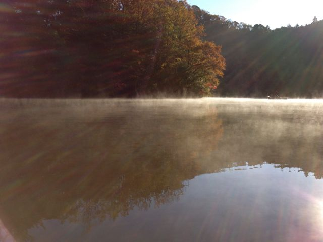 亀山湖 バス釣りキャンプ2012冬(後編)
