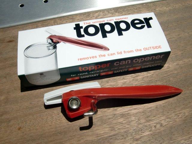 空き缶ポットが量産できる缶切り TOPPER