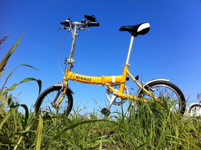 自転車に乗って RENAULT(ルノー)AL-FDB166