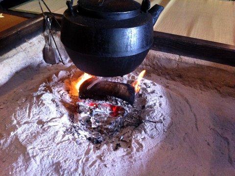 囲炉裏のある生活