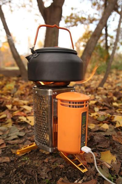 BioLite stove 予約開始してました